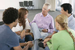 There are 12 step groups for a variety of addictions.